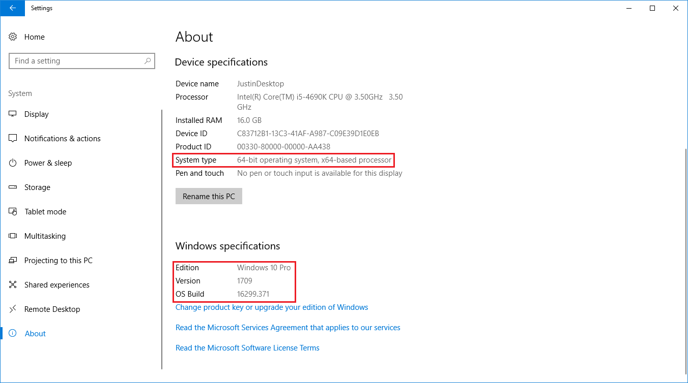 Locate your Windows 10 Version Number and Update your Windows 10