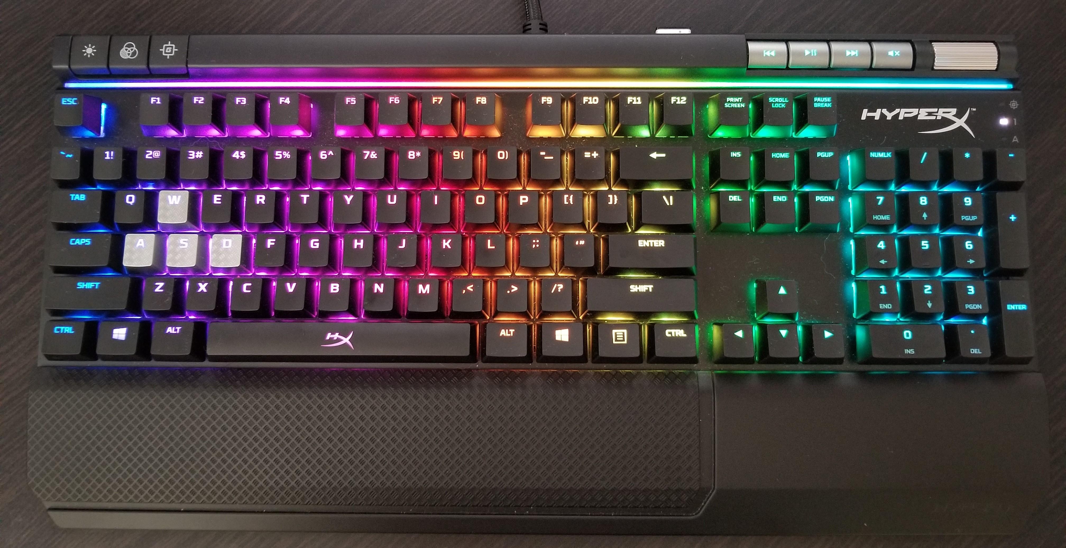 8a805da9eeb Unmatched Brilliance – A HyperX Alloy Elite RGB Keyboard Review ...